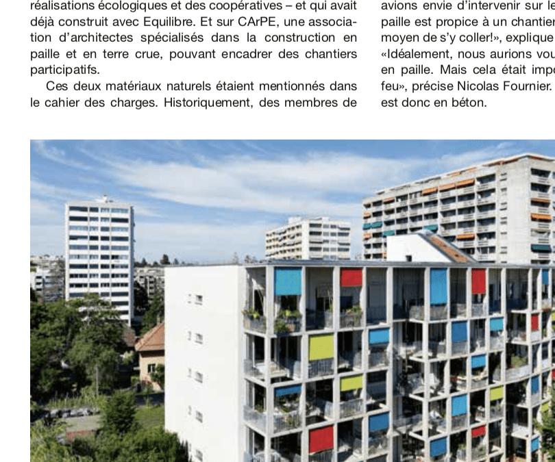 Revue Habitation – Septembre 2017
